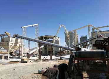 Quartz processing plant