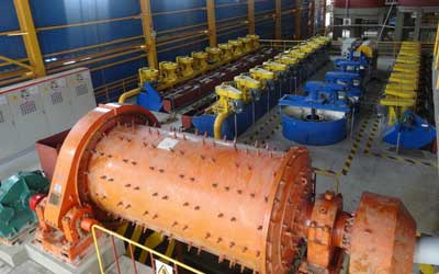 ball mill and flotation