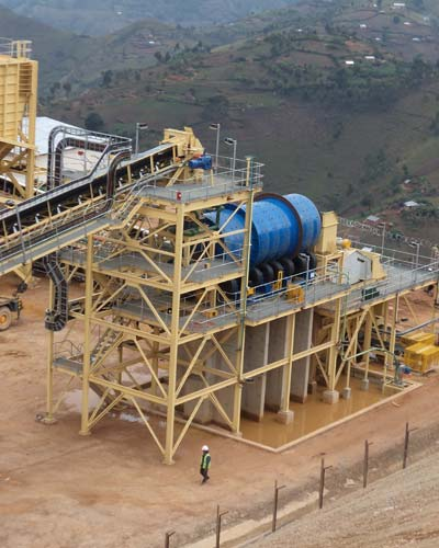 Scrubber Washing Plant For Mineral Processing