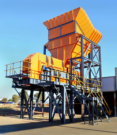 Mineral Processing Plant Feeding System
