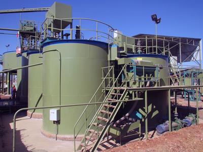 Leaching Tank