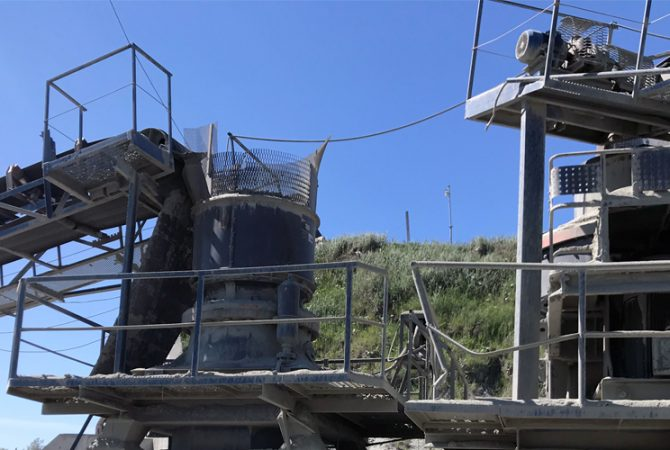 Granite Processing Plant in Belarus