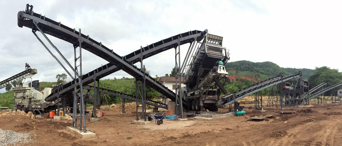 Iron Ore Processing Plant in Thailand